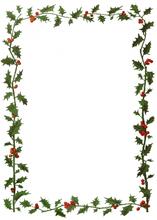 Vánoční jmenovka na dárky k vytištění