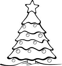 Vánoční omalovánka k vytisknutí