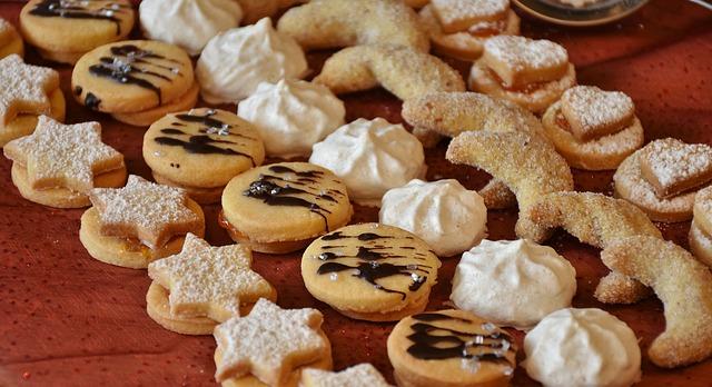 vánoční cukroví. Zdroj: Pixabay