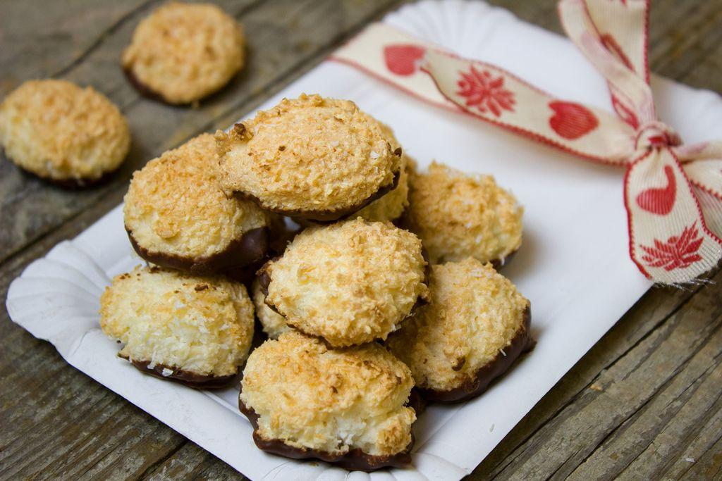 Tradiční vánoční cukroví kokosky