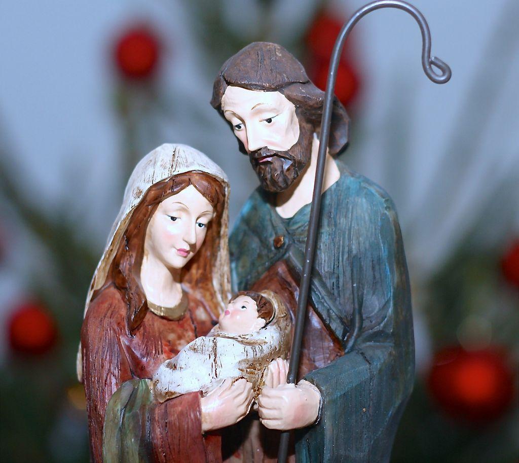 Panna Marie, Josef a malý Ježíš