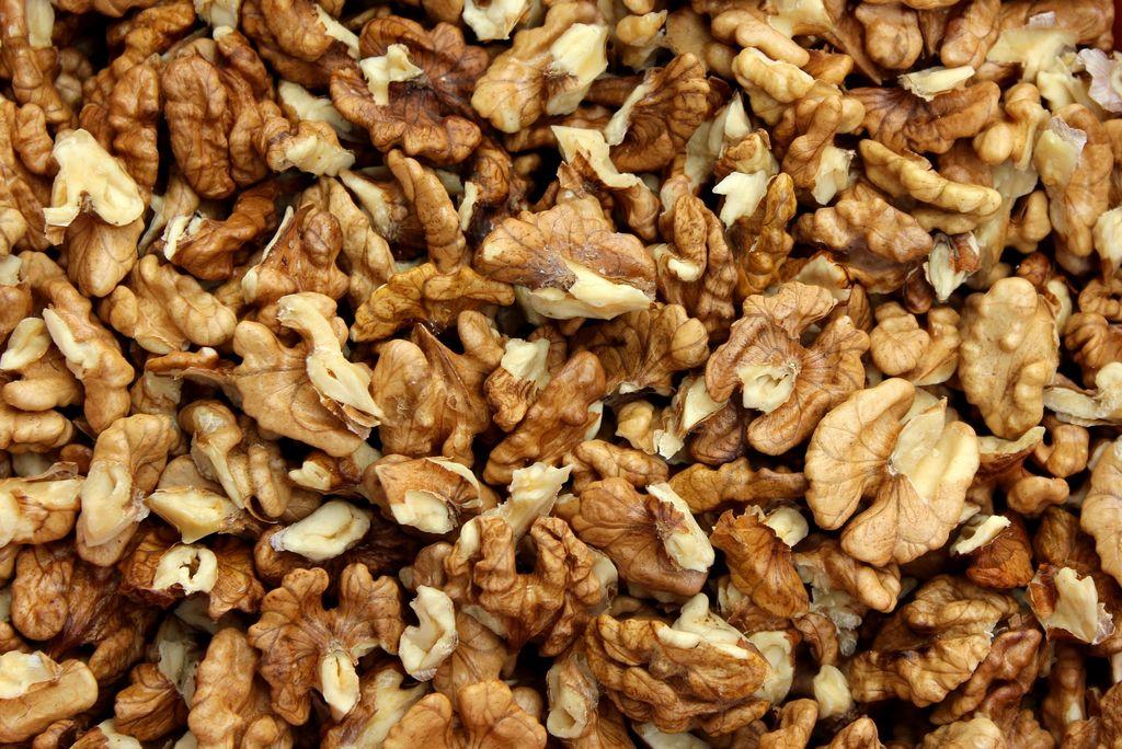 Vyloupané vlašské ořechy